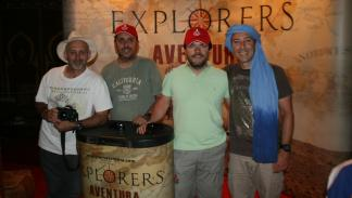 Explorers Aventura 2015 mitsubishi press team