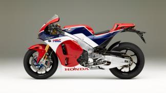 Honda RC213V-S. Perfil izquierdo.