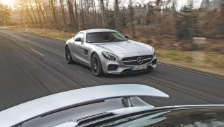 Mercedes AMG-GT frontal