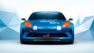 Alpine Celebration Concept Le Mans frontal