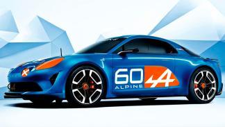 Alpine Celebration Concept Le Mans tres cuartos