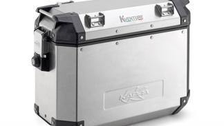 Maletas moto Kappa aluminio  , maleta derecha