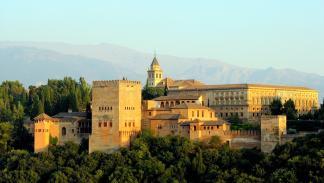 La Alhambra, en Granada