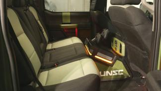 Ford F-150 Halo Sandcat interior