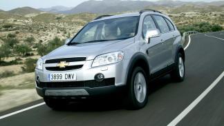 Chevrolet Captiva delantera