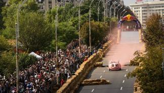 Red Bull Autos Locos en Bucarest
