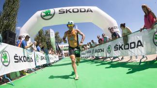 Skoda Triathlon Series 2015, running