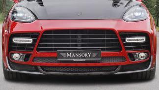 Porsche Cayenne Turbo S de Mansory morro detalle