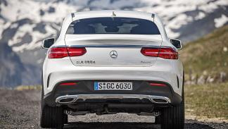 Prueba: Mercedes GLE detalle pilotos