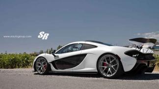 McLaren P1 by SR Auto Group tres cuartos trasero