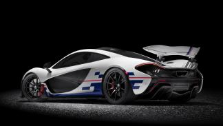 McLaren P1 Prost goodwood trasera