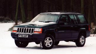 Jeep Grand Cherokee V8 delantera