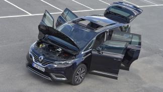 Renault Espace 2015 puertas abiertas