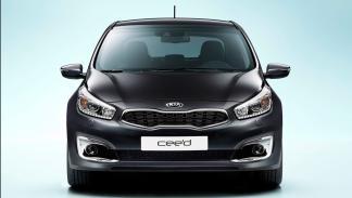 Kia Cee'd 2016 cuatro puertas frontal