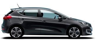 Kia Cee'd 2016 cuatro puertas lateral
