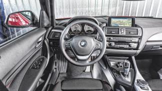 BMW 116d lateral volante