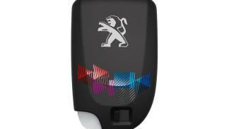 Peugeot 108 Playlist, llave de acceso