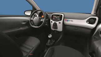 Peugeot 108 Playlist, habitáculo