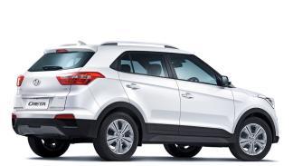 Hyundai Creta 2015 trasera