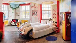 habitación gasolinera hotel V8