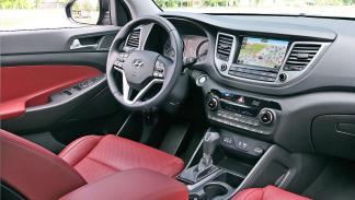Prueba Hyundai Tucson 2015 interior