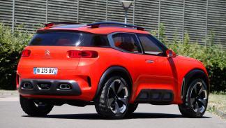 Citroën Aircross trasera
