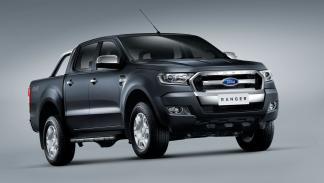 Ford Ranger tres cuartos delanteros