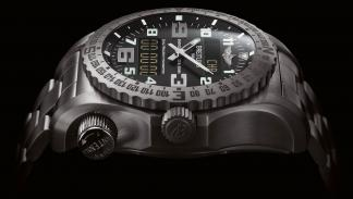 Breitling Emergency negro