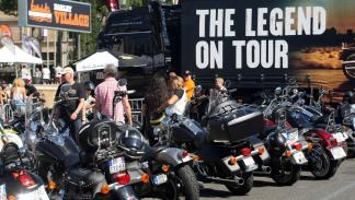 Barcelona Harley Days 2015, Legend on Tour
