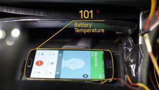 Sistema que evita que el smartphone se sobrecaliente.