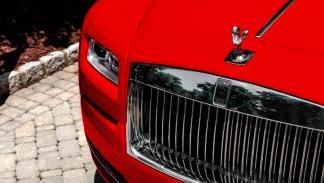 Rolls-Royce Wraith St. James Edition parrilla