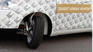 ZF Smart Urban Vehicle direccion