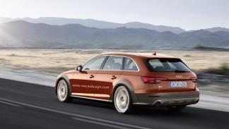 Audi A4 allroad futuro trasera