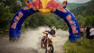 Red Bull Romaniacs enduro , paso Red Bull