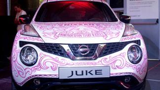 Andi Rivas y el Nissan Juke