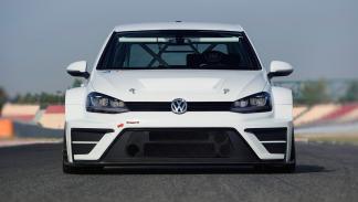 delantera del VW Golf TCR