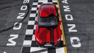 Audi RS7 pilotado aérea