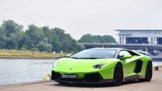 Novitec Torado Lamborghini Aventador verde