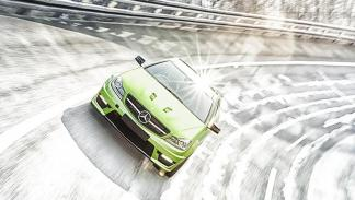 Mercedes C63 AMG Coupe Legacy Edition frontal