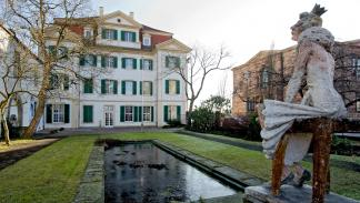 Kassel: jardines del Palais Bellevue