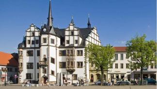 El Ayuntamiento de Saalfeld.