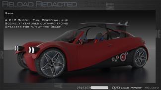 Propuesta de diseño Reload Redacted – Swim/Sport