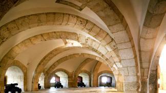 Interior de la Torre de Belém.