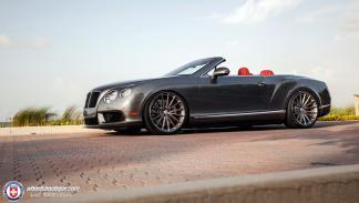 Bentley Continental GTC V8 HRE lateral