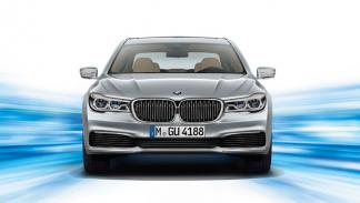BMW Serie 7 enchufable frontal