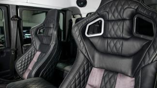 Land Rover Defender Kahn Design asientos