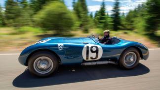 Jaguar C-Type dinamica