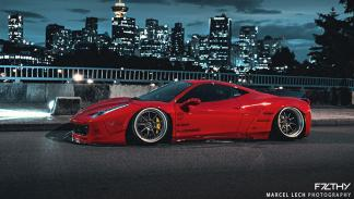 Ferrari 458 Liberty Walk lateral
