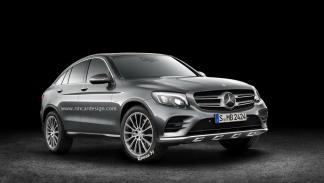Mercedes GLC Coupé render 2