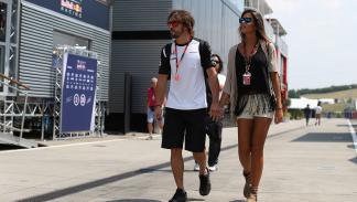 Lara Álvarez y Alonso en Hungría 2